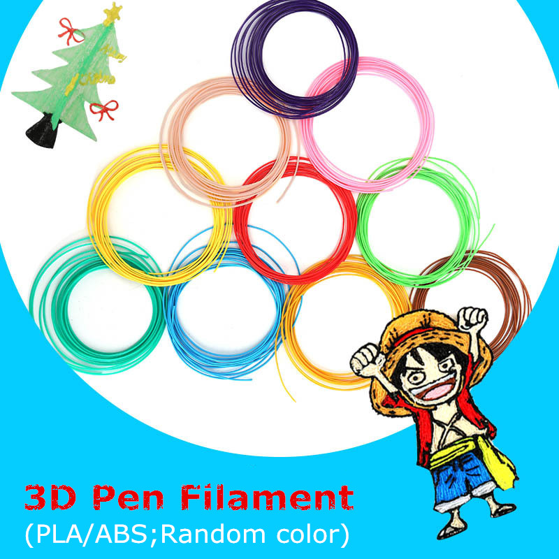 Christmas Gift ABS PLA Materials 1 75mm 3D Print Filament For 3D Printer Or 3D Pen