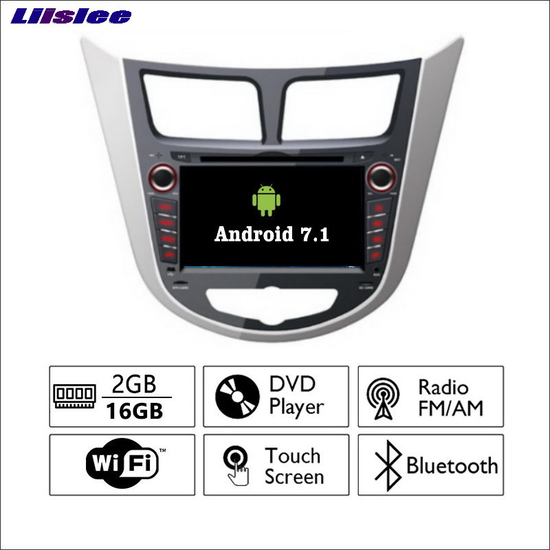 Android 5.1 9inch For Hyundai Accent / Solaris / Verna Car Radio GPS Audio Video Multime ...