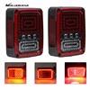 MALUOKASA 2PCs US Plug Rear LED Reverse Light For Jeep JK Wrangler 07 17 SUV DRL
