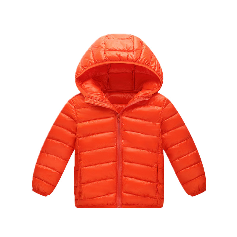 2018 Winter solid unisex lightweight down jacket children 39 s winter overalls boys and girls winter down jacket in Down amp Parkas from Mother amp Kids