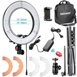 Neewer Ring-Light Light-Stand-Kit Selfie Photography Makeup Phone Led Youtube 14-Inch