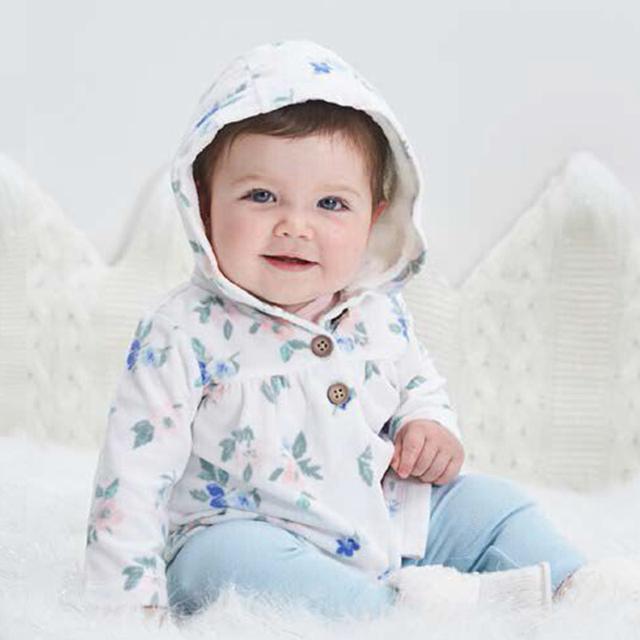 Baby boy girl clothing set peças body & encapuzados longo-luva exteriores & calças de algodão carter bebes clothing set