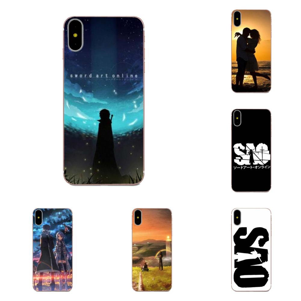Soft TPU New Fashion For Galaxy Alpha Note 3 4 10 A10 A20 A20E A30 A40 A50 A60 A70 A80 A90 M10 M20 M30 M40 Sword Art Online image