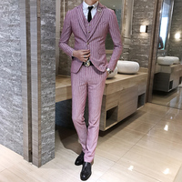 2018 Spring And Summer New Gentleman Suit Men's Business Casual Fashion Temperament British Style Professional Dres