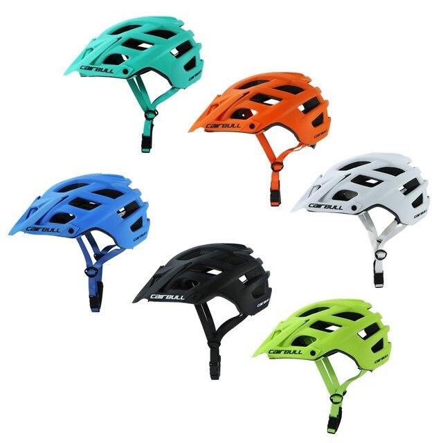 2018 novo cairbull ciclismo capacete trail xc bicicleta capacete in-mold mtb bicicleta capacete casco ciclismo estrada capacetes de montanha boné de segurança 1