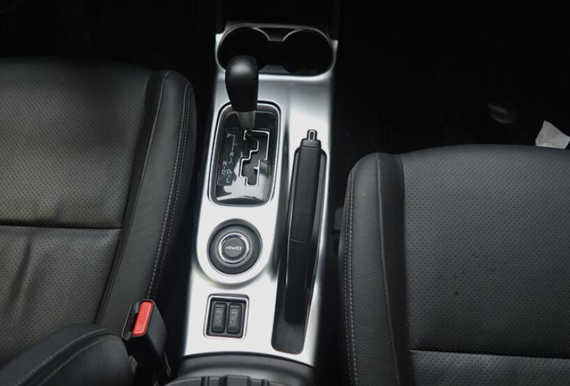 ФОТО Water Cup Holder Gear Box Panel Cover Trim For Mitsubishi Outlander 2013- 2016