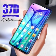 37D Glass on the For Huawei P20 P30 Pro Screen Protector Tempered Honor 8A 8C 8S 8X 20 10 i Lite Film