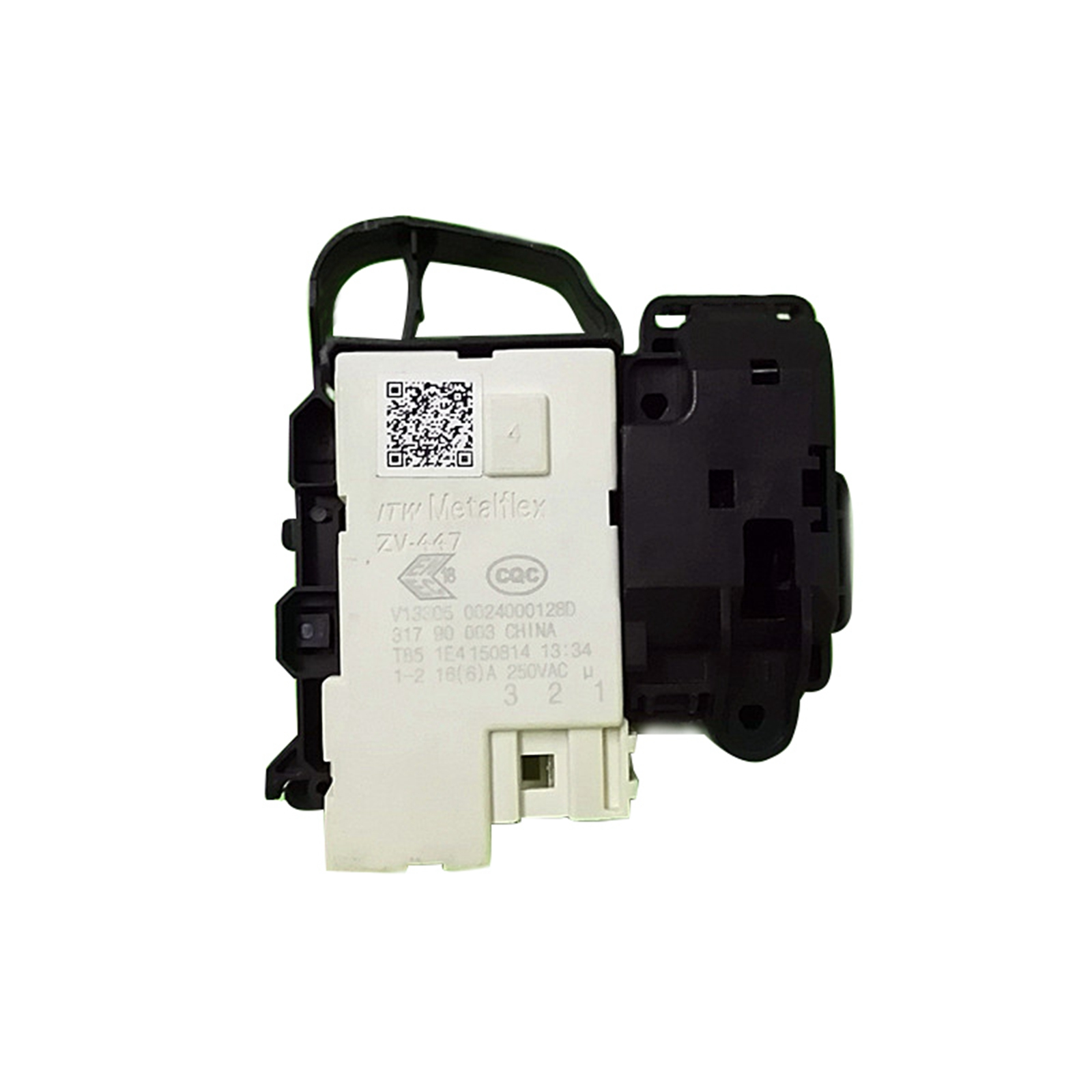 1pc ZV-447 Deurslot Vertraging Schakelaar Wasmachine Onderdelen voor Whirlpool/Hairer ZV-447 Schakelaar voor 0024000128A, 0024000128D