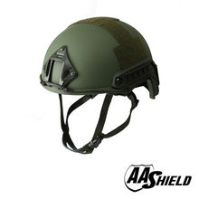 AA Shield Ballistic ACH High Cut Tactical Helmet Bulletproof Body Armor Aramid Core Helmet Safety Helmet NIJ IIIA 3A OD