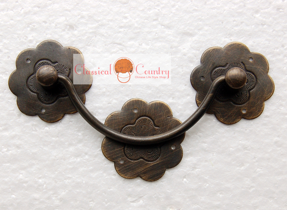 Chinese Furniture Brass Hardware Copper Lock  3.74/""