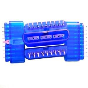 Image 3 - 10 adet yedek 9 Pin 90 derece dişi konnektör oyun denetleyicisi soket yuvası için PS2 konsolu playstation 2 aksesuar
