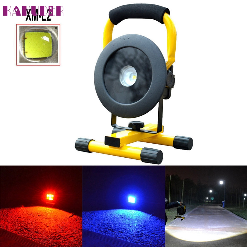 High Quality Rechargeable 3500LM L2 LED Floodlight Work Light Caravan Camping Lamp