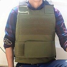צבאי ציוד טקטי Vest צבא Airsoft ציד Molle אפוד חיצוני ספורט פיינטבול CS Wargame Combat מגן אפוד