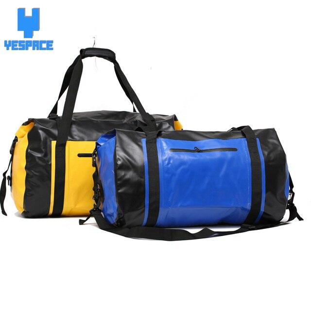 Yee 60l Large Capacity Gym Bag Waterproof Pvc Sports For Fitness Men Mochila Bolsa