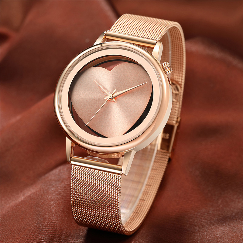 2018 Hot Sale Luxury brand women watches Lvpai Women's Casual Quartz Steel Mesh Band Watch Analog WristWatch moda mujer reloj 21 1