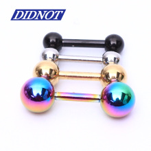 6pcs mix size 1.2*6*3/4/5mm Ear Nail Bone Barbell Earring Piercing helix ear stud tragus Ear Piercing Cartilage Ring