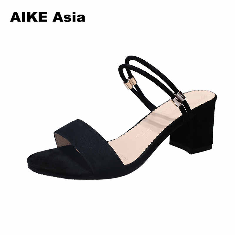 High Heels Shoes Women Fashion Shoes Sandals Pumps Summer Sexy Black Heels Ladies Shoes Casual Women Pumps Wedding Shoes #1010 new fashion women casual shoes women sandals 2016 thick high square heels sandals black flock pumps