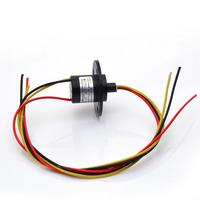 Wind Power Electrical Slip Ring 2 3 4 5 6 8 Channel 10A Large Current Conductive