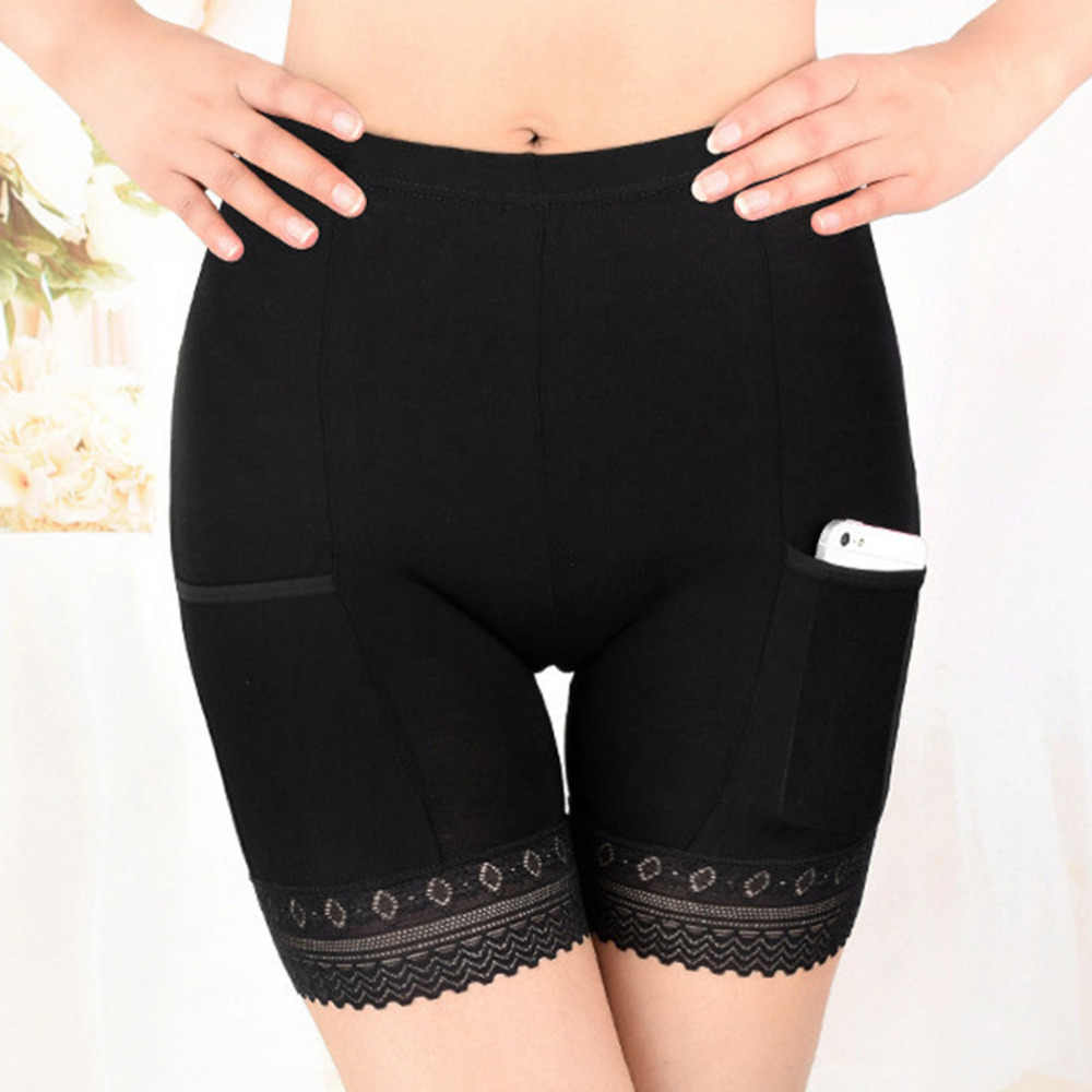2019 新しい女性ソフト綿シームレスな安全ショートパンツホット販売夏下スカートショーツモーダル氷の絹通気性ショートタイツ