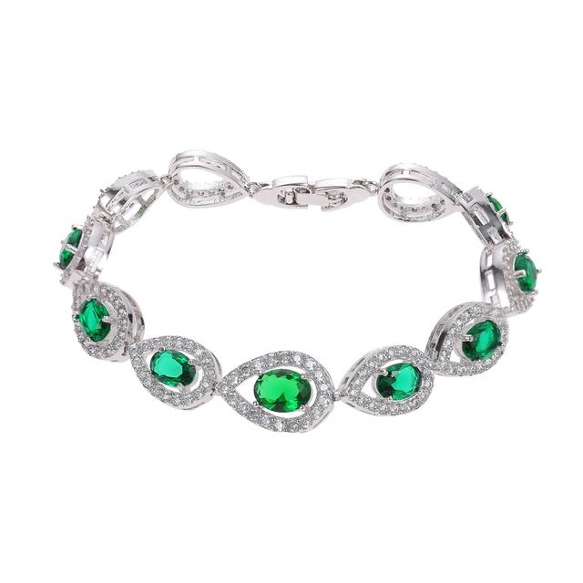 Julie cut cz banhado a ouro charme infinito pulseiras bangles para mulheres aaa pulseira de zircão cúbico presente de aniversário de jóias de luxo