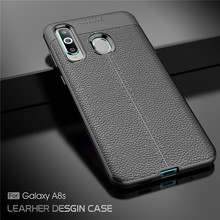 For Phone Case Samsung Galaxy A8s Luxury Rubber for Silicone Back Cover Shell