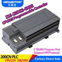 Amsamotion CPU226 6ES7 216 2BD23 0XB8 Реле PLC 24I/16O 6ES7 216 2AD23 0XB8 транзистор PLC
