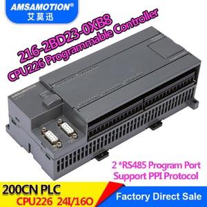 Image 2 - Amsamotion CPU226 6ES7 216 2BD23 0XB8 ממסר PLC 24I/16O 6ES7 216 2AD23 0XB8 טרנזיסטור PLC