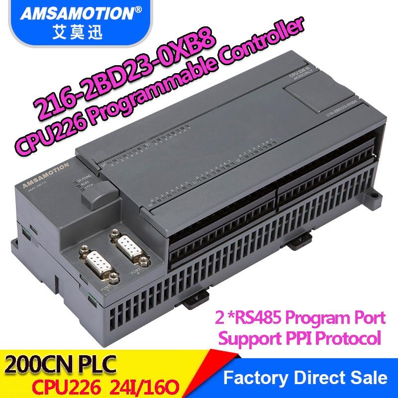 Amsamotion CPU226 6ES7 216-2BD23-0XB8 Relay PLC 24I/16O 6ES7 216-2AD23-0XB8 Transistor PLC цены