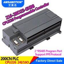 Amsamotion CPU226 6ES7 216-2BD23-0XB8 Relay PLC 24I/16O 6ES7 216-2AD23-0XB8 Transistor PLC new original module 6es7 134 4gb01 0ab0