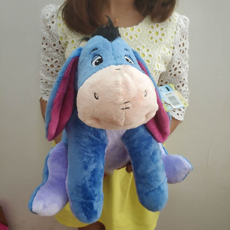35 cm cute blue and  Eeyore plush toys  gray Little donkey girls baby Plush Doll Toys boys Kids Birthday Gift35 cm cute blue and  Eeyore plush toys  gray Little donkey girls baby Plush Doll Toys boys Kids Birthday Gift