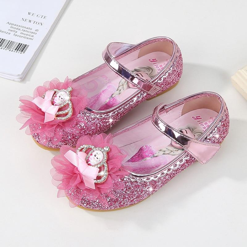 da421467519 ... girls single crystal baby small shoes Frozen Princess shoes EU. sku   32955903019