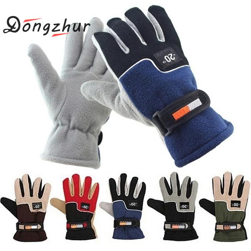 Men Women Winter Sport Windstopper Ski Gloves Warm Riding Motorcycle Gloves Outdoor Full Finger Windproof Gloves