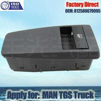 Fabrika Doğrudan Otomatik Güç Pencere Kontrol Anahtarı KAMYON PARÇALARI Yolcu TARAFı 81258067095 için Geçerlidir Man TGX TGS TGL TGM