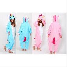 Sleepsuit пп onesie единорог бесплатный косплей доставка взрослых животных пижамы костюм