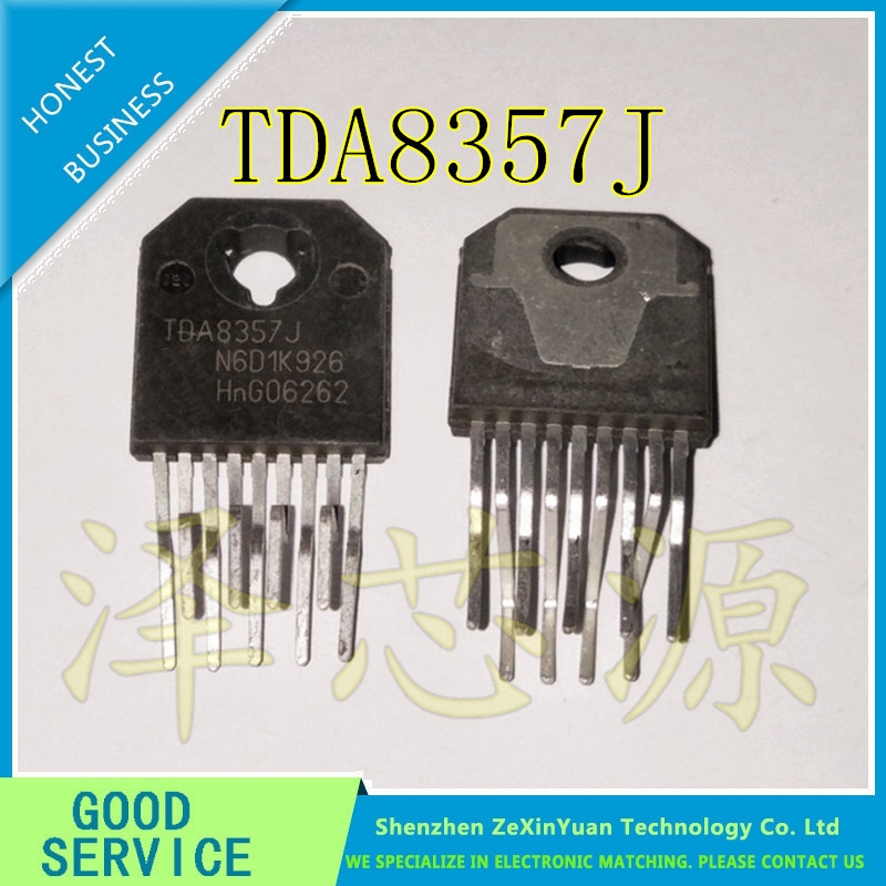 10pcs/lot TDA8357J TDA8357 ZIP-9 FIELD OUTPUT CIRCUIT COMMONLY USED AUDIO INTEGRATED CIRCUIT