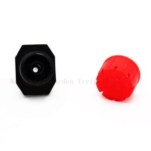Image 2 - 8Holes Red Adjustable Flow Dripper Micro Emitter Drip Irrigation Sprinkler Nozzle Garden Watering Fittings