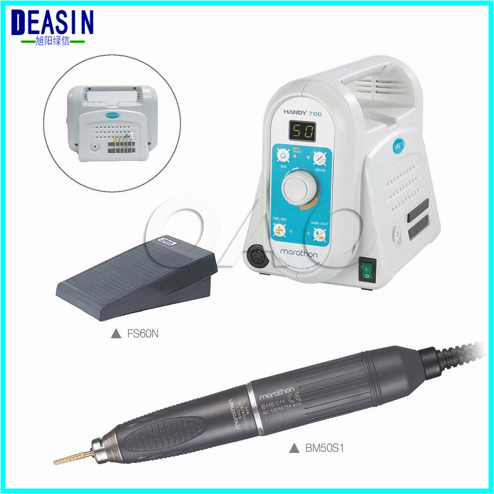 Original South Korea Micro Polishing 50000 Rpm brushless Handpiece dental lab Handy 700 + BM50S1 Marathon Electric Micromotor dental lab marathon handpiece 35k rpm electric micromotor polishing drill burs