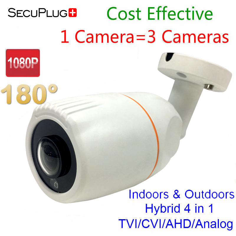 HD AHD CVI TVI Security Outdoor Camera Wide Angle 180 Degree Water-proof IP66