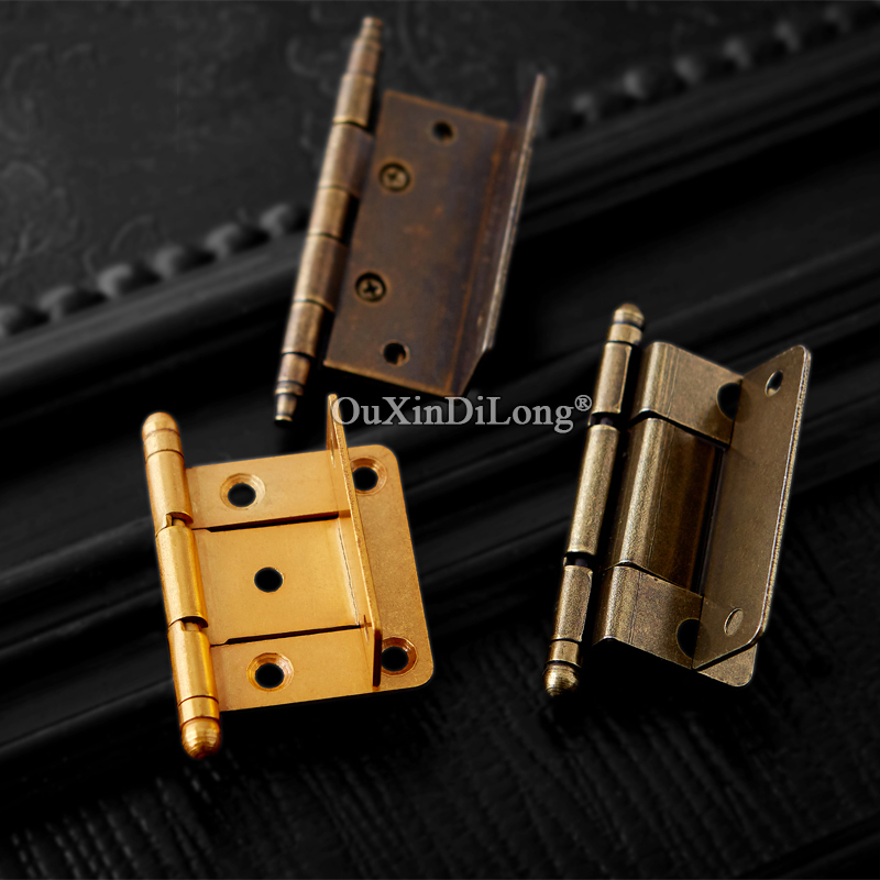 Retro Vintage 10pcs European Antique Furniture Hinges