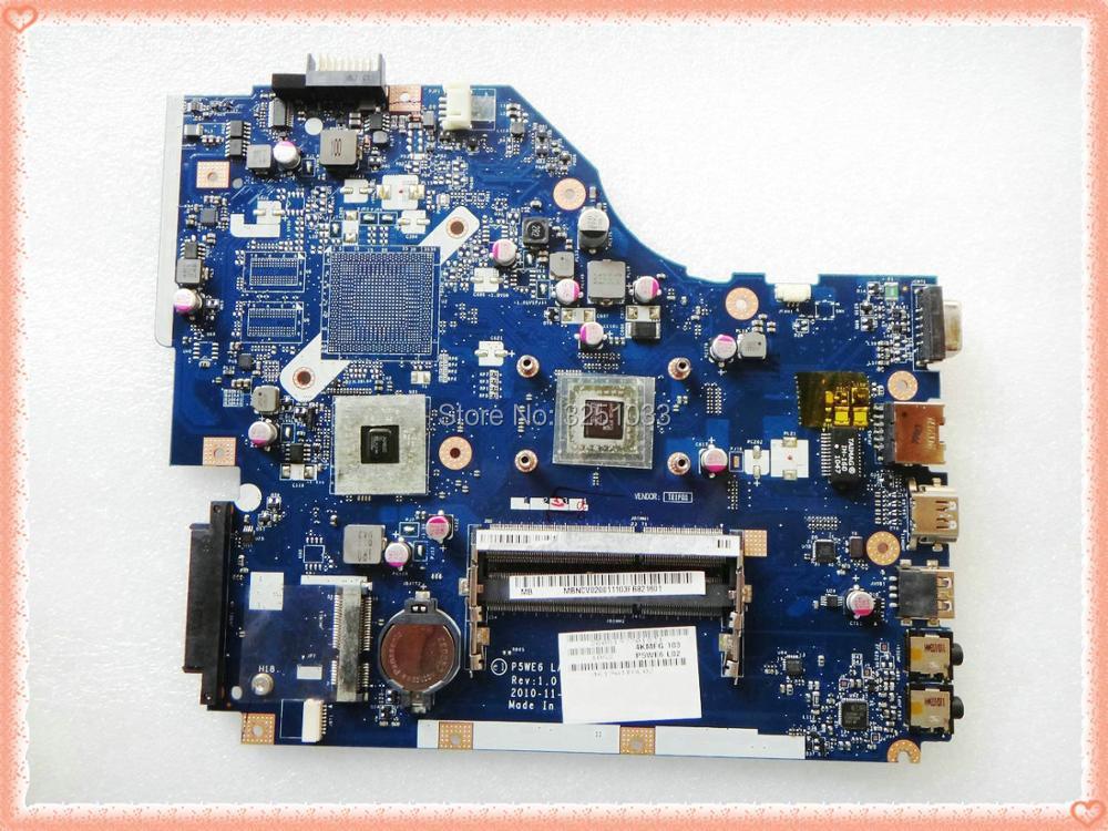 LA-7092P for Acer 5253 5250 NOTEBOOK P5WE6 LA-7092P for Acer Aspire 5253 5250 Laptop Motherboard MBNCV02001 test 100% work