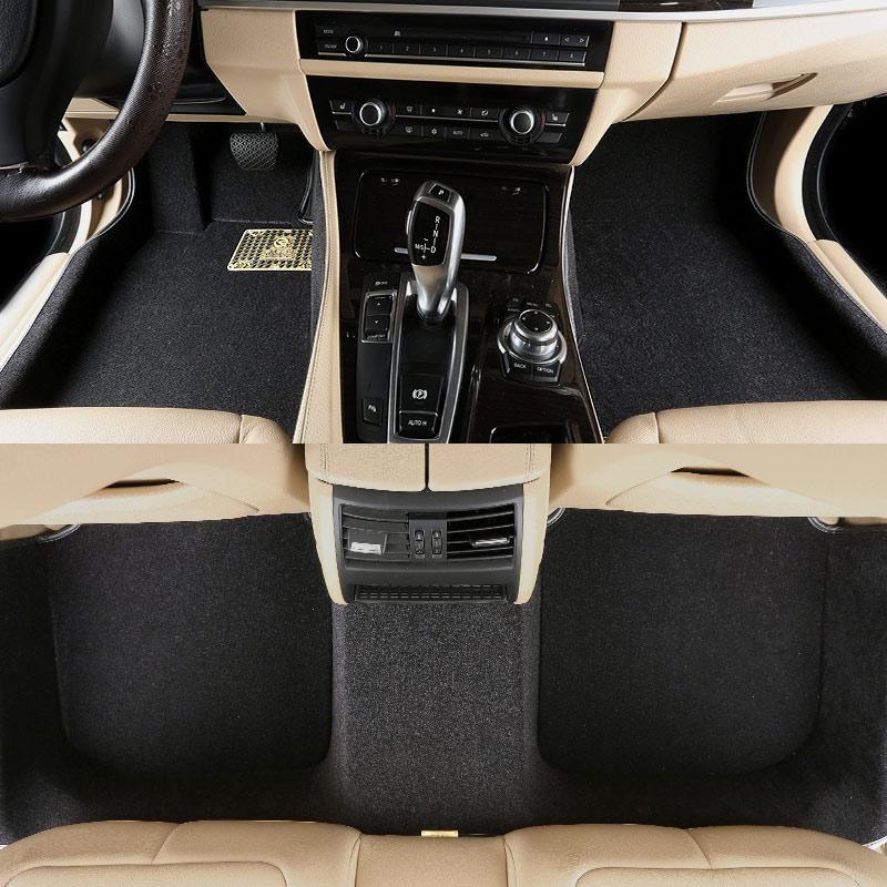 car floor mat carpet rug ground mats for BMW 1 series F20 2 series F22 F23 F24 BMW 3 series GT E90 E92 E93 F30