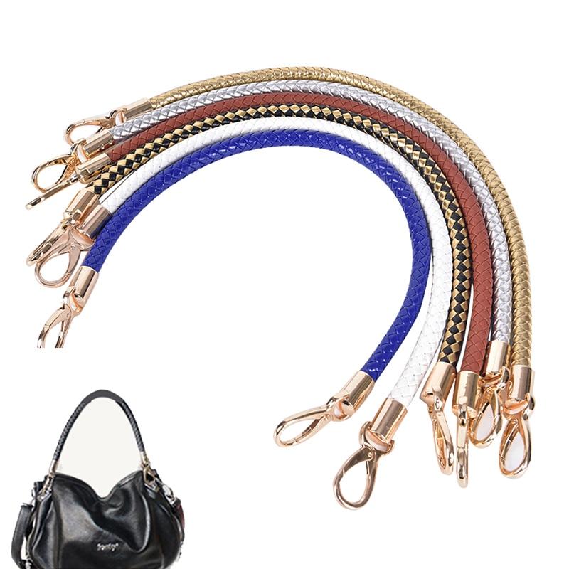 DIY Bag Replacement Purse Straps Shoulder Handbag Crossbody Bag Handle White