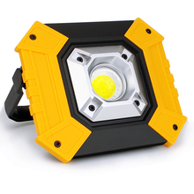 20W USB Charging Led Portable Spotlight COB Super Bright Led Work Light Rechargeable for Outdoor Camping Lampe Led Flashlight