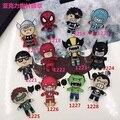Nueva Llegada Broche de Joyería de Acrílico de Dibujos Animados Batman Spiderman Avengers Hermana Suave Insignia Accesorios de La Joyería