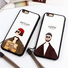 """Silicone iPhone Cases """"Leon"""" and """"Matilda"""""""