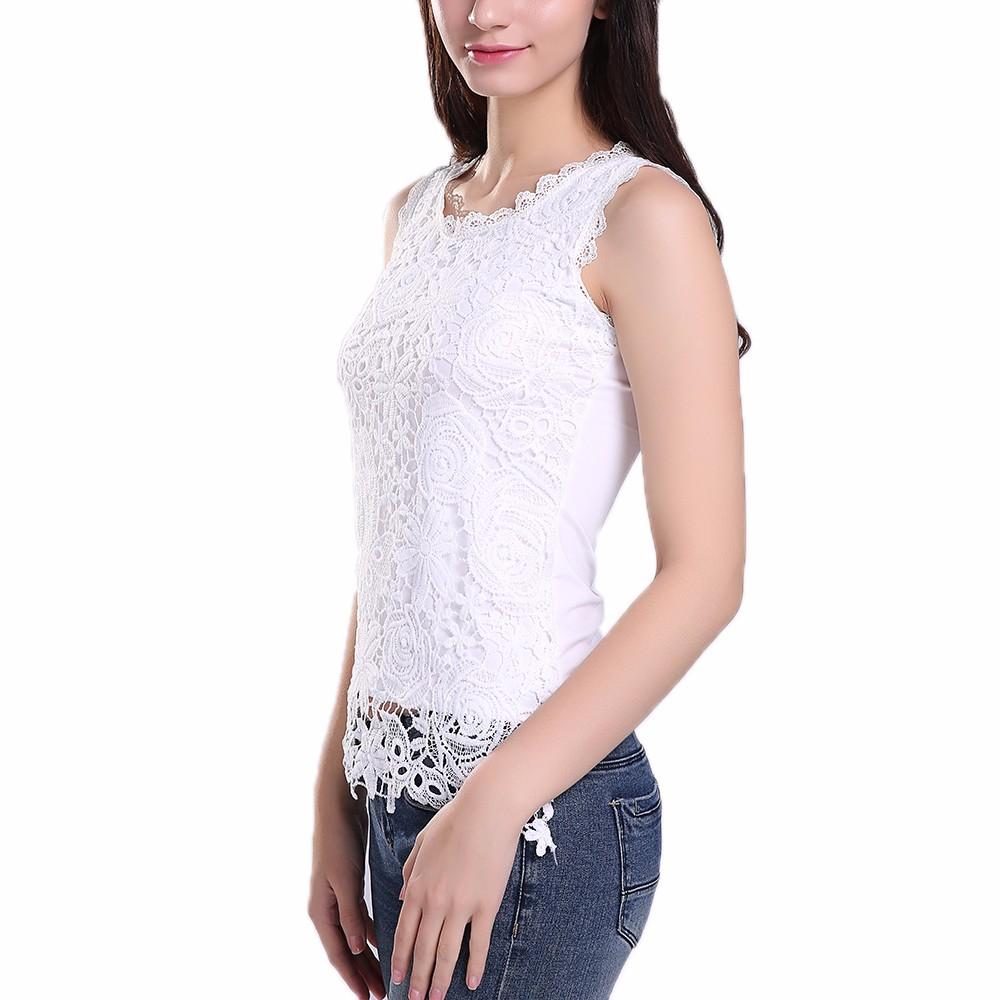 HTB1NkkBNFXXXXaLXVXXq6xXFXXXQ - New Women Lace Vintage Sleeveless Blouse Casual Shirts