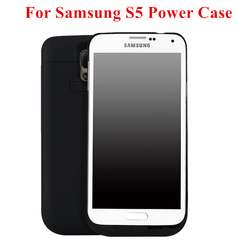 2017 new 4800mah for samsung s5 power case backup power. Black Bedroom Furniture Sets. Home Design Ideas