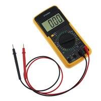 Digital LCD Display Multimeter Volt Current Amp Ohm Hz AC DC Temperature Hertz Tester Ammeter Voltmeter