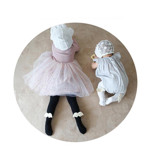 Pantyhose  de Ángel de Algodón para Niñas y Bebés