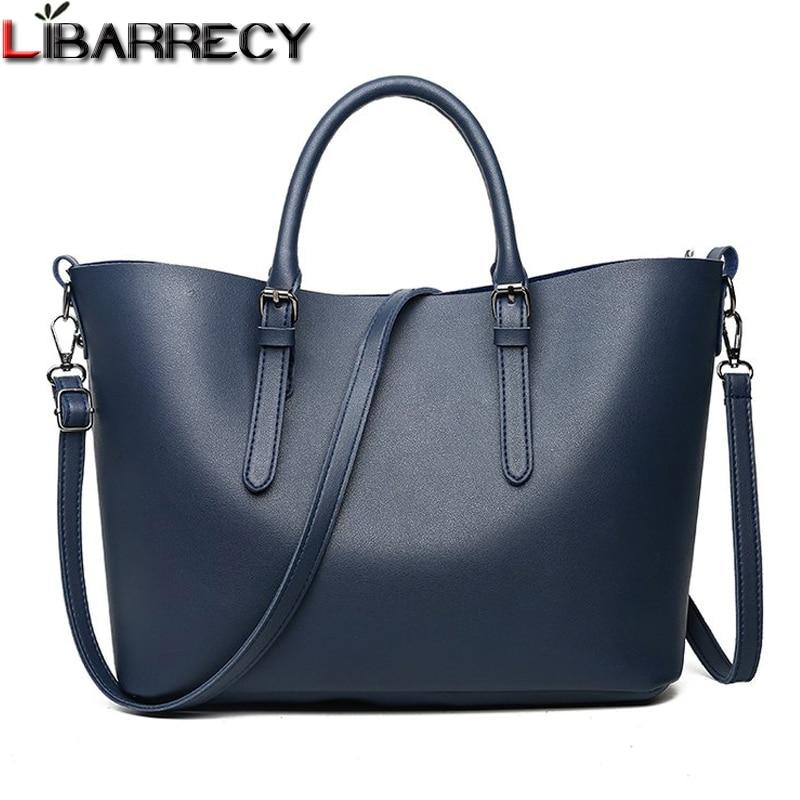 Responsible 2019 New Fashion Large Capacity Women Tote Bag Leather Female Shoulder Bag Causal Women Handbag Ladies Messenger Bags Top-handle Bags